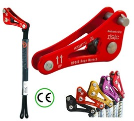 Certifikovaný set ISC ROPE WRENCH DOUBLE TETHER