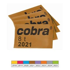 Identifikační koncovka COBRA CAP 2021 - 8t