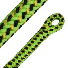 Arboristické lano TEUFELBERGER FLY 11,1 mm 1x oko GREEN
