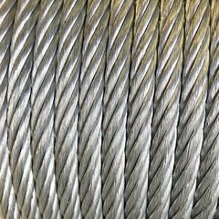 Ocelové lano na statické vazby 10mm 52,1kN DIN3066