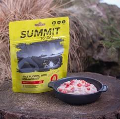 Rýžový nákyp s jahodami SUMMIT TO EAT