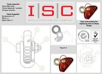 Sada výměných dílů pro ISC ROPE GRAB
