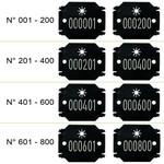 Značkovací štítky LATSCHBACHER ARBOTAG FIX BLOCK 800