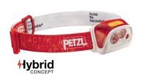 Čelová svítilna PETZL ACTIK CORE - červená